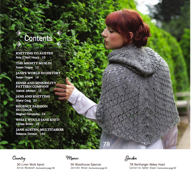 Jane Austen Knitting Patterns : The language of women   Bazaar Bayar