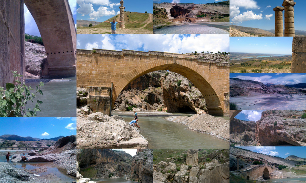 Crossing Roman bridges: 2nd Century Cendere Bridge built for Septimius Severus