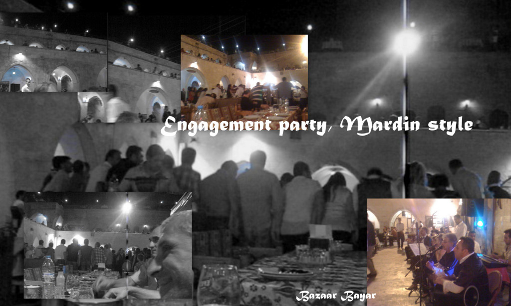 Mardin Engagement party collage