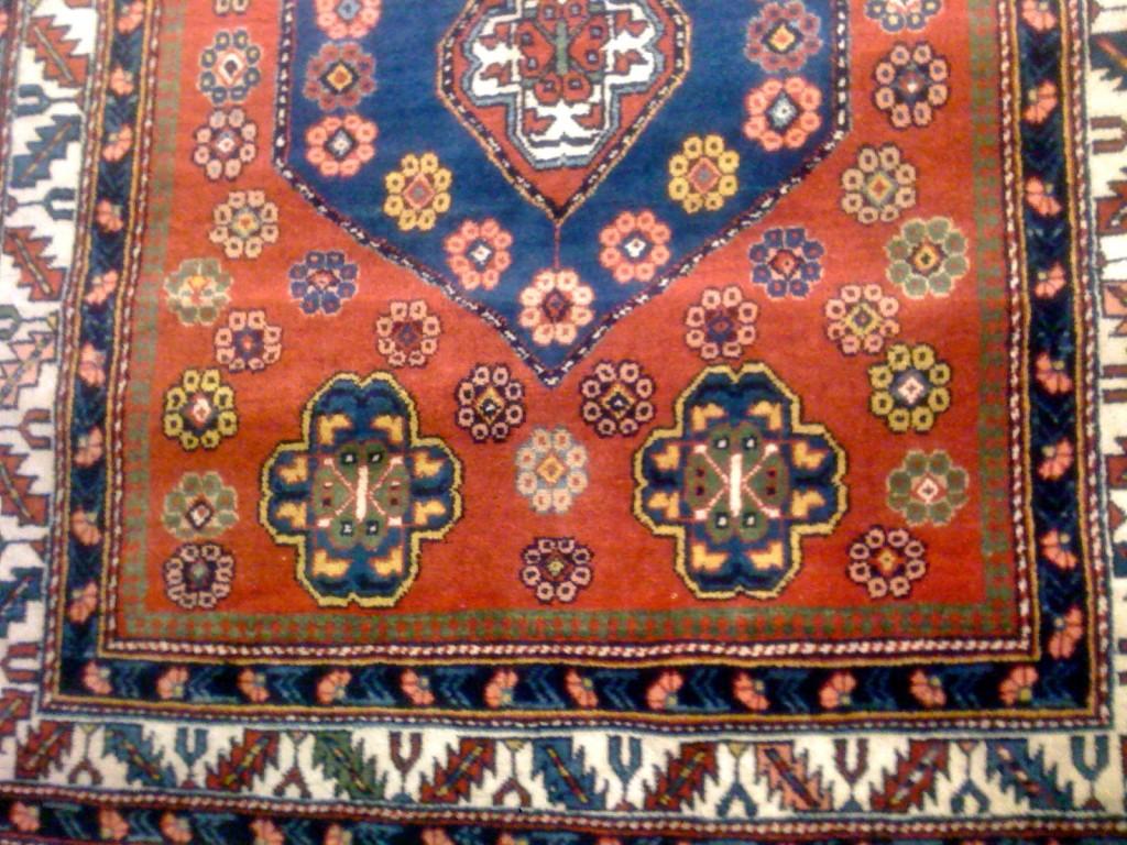 "Vintage Caucasian Carpet 5'11""x3'8"""